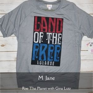 Lularoe American Dreams Jane Land of the Free  M